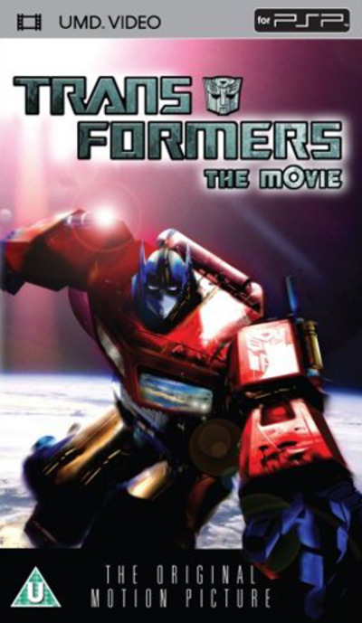 transformers the movie umd mini for psp cd