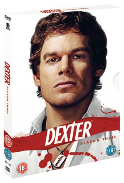 dexter  season 3 dvd box set new