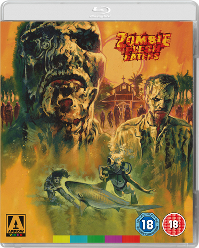 Zombie Flesh Eaters Bluray Special New