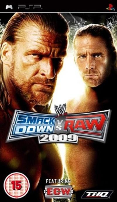 WWE Smackdown vs. Raw 2009 (PSP) Sony PSP