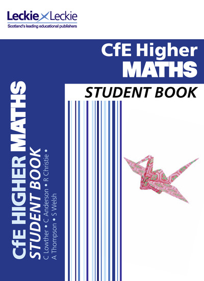Jacket Image For: CfE higher maths. Student book