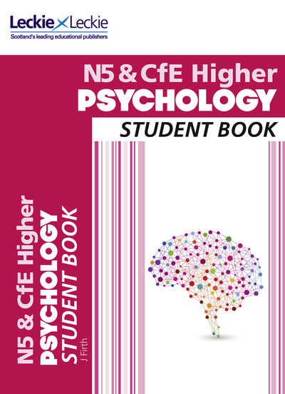 Jacket Image For: National 5 & CfE higher psychology. Student book