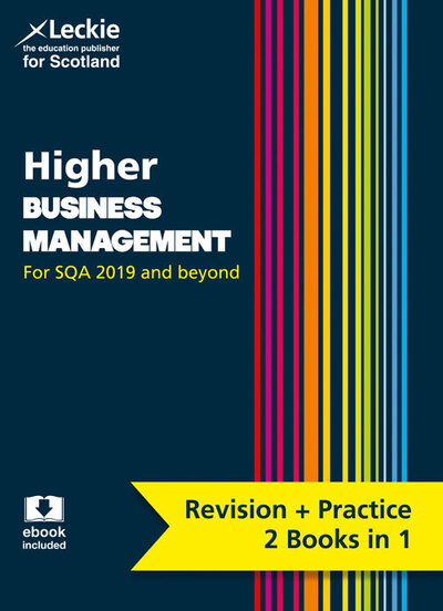 Jacket Image For: Higher business management