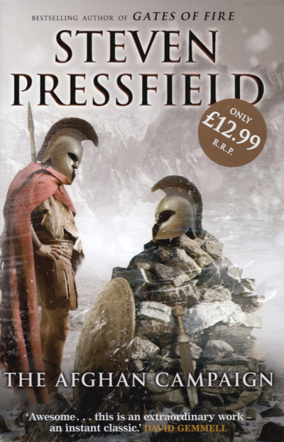 The-Afghan-campaign-by-Steven-Pressfield-Hardback