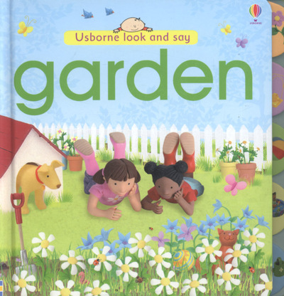 Usborne look and say: Garden by Jo Litchfield|Matt Durber (Hardback)
