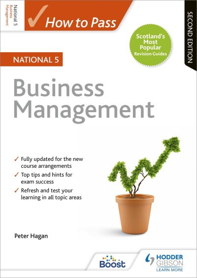 Jacket Image For: How to pass National 5 business management