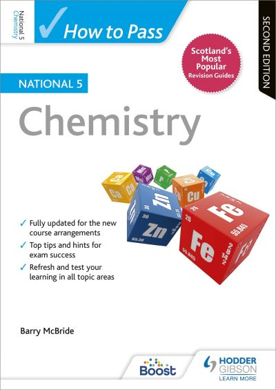 Jacket Image For: How to pass National 5 Chemistry