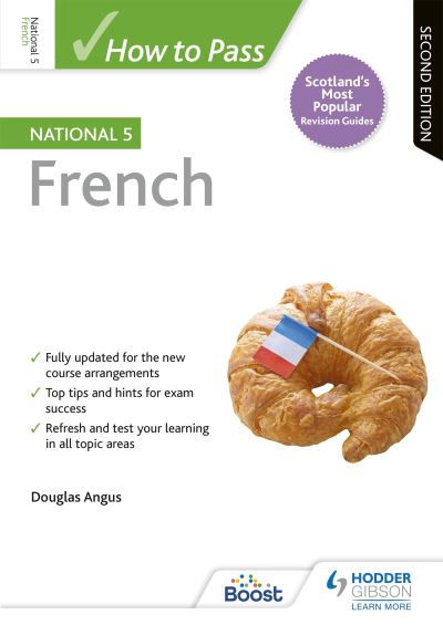 Jacket Image For: How to pass National 5 French