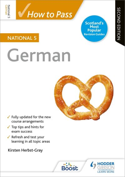 Jacket Image For: How to pass National 5 German