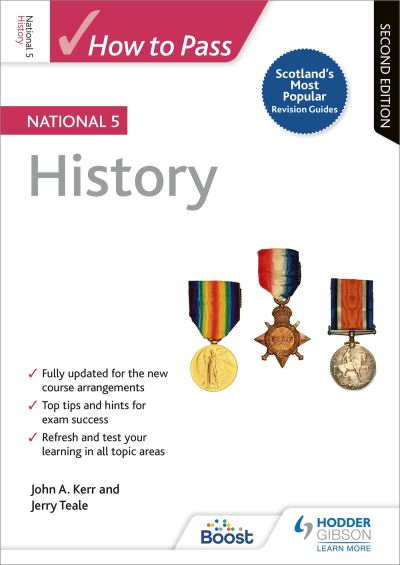Jacket Image For: How to pass National 5 history