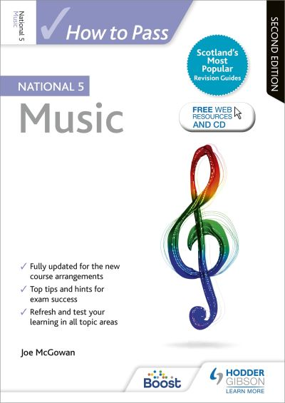 Jacket Image For: How to pass National 5 music