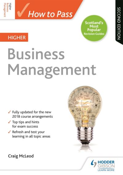 Jacket Image For: How to pass Higher business management