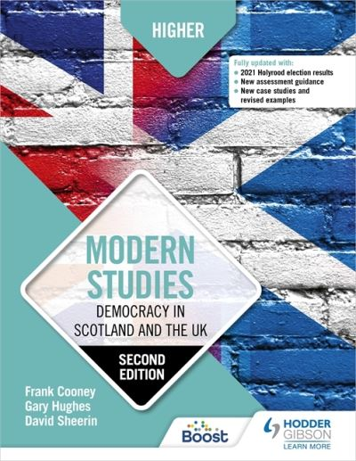 Jacket Image For: Higher modern studies. Democracy in Scotland and the UK
