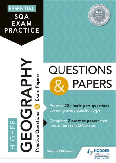 Jacket Image For: Higher geography questions and papers