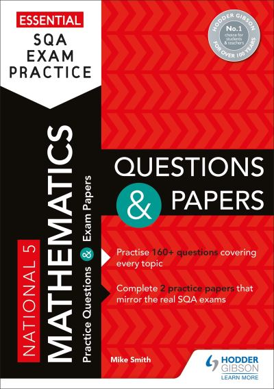 Jacket Image For: National 5 mathematics. Questions and papers