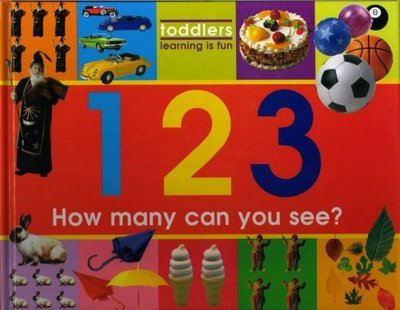 Toddlers learning is fun: 123: how many can you see? (Hardback)