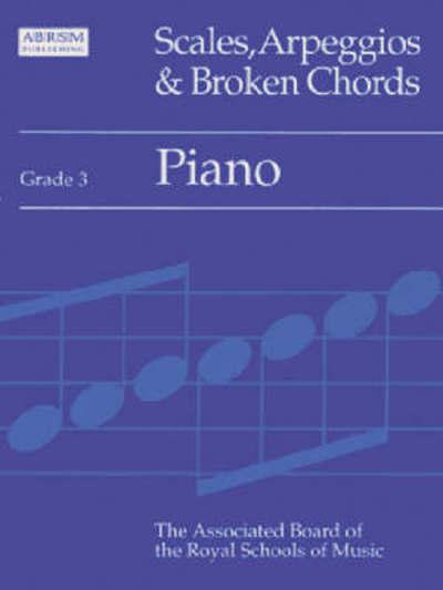 Scales Arpeggios And Broken Chords Grade 3 Piano Paperback Ebay
