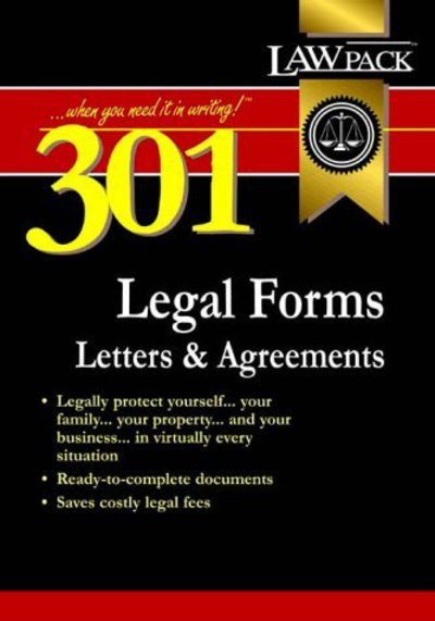 301 legal forms, letters & agreements (Paperback)