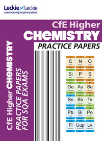 Jacket Image For: Higher chemistry practice papers for SQA exams