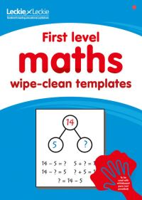 Jacket Image For: First Level Wipe-Clean Maths Templates for CfE Primary Maths