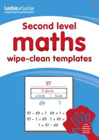Jacket Image For: Second Level Wipe-Clean Maths Templates for CfE Primary Maths