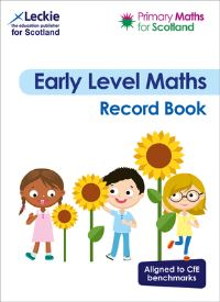 Jacket Image For: Primary Maths for Scotland Early Level Record Book