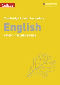 Jacket Image For: English. Stage 7 Teacher's guide
