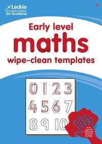 Jacket Image For: Early Level Wipe-Clean Maths Templates for CfE Primary Maths