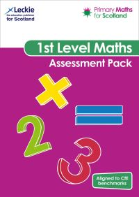 Jacket Image For: Primary Maths for Scotland First Level Assessment Pack