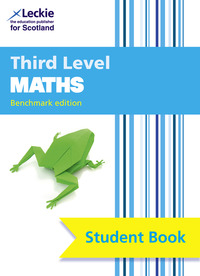 Jacket Image For: Maths. Third level Student book