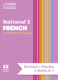 Jacket Image For: National 5 French