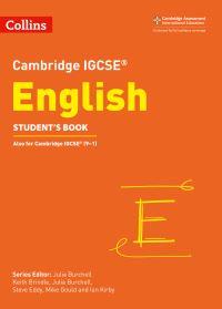 Jacket Image For: Cambridge IGCSE English. Student's book