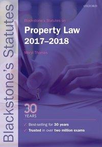 Blackstone's statutes on property law, 2017-2018