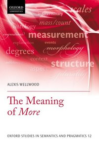 Jacket Image For: The meaning of more