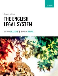 Jacket Image For: The English legal system