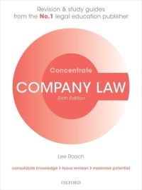 Jacket Image For: Company law concentrate