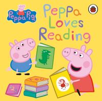 Jacket Image For: Peppa loves reading