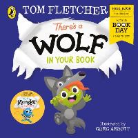 Jacket Image For: There's a wolf in your book
