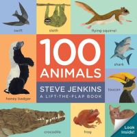Jacket Image For: 100 Animals (lift-the-flap padded board book)