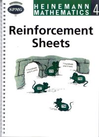 Jacket Image For: Heinemann mathematics 4. Reinforcement sheets