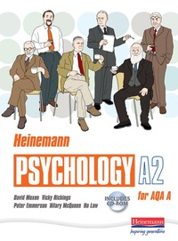 Jacket Image For: Heinemann psychology A2