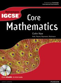 Jacket Image For: Heinemann IGCSE core mathematics