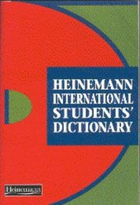 Jacket Image For: Heinemann International students' dictionary