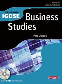Jacket Image For: Heinemann IGCSE business studies