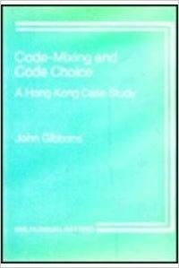 Jacket Image For: Code-Mixing and Code Choice