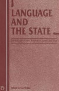 Jacket Image For: Language and the State