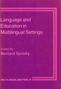 Jacket Image For: Language and Education in Multilingual Settings
