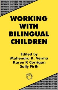 Jacket Image For: Working with Bilingual Children