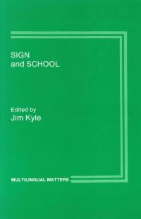 Jacket Image For: Sign and School