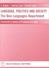 Jacket Image For: Language Politics and Society